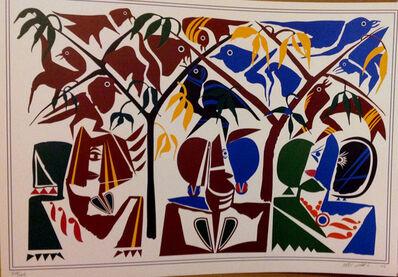 Hussein Madi, 'Men & Birds', 2003