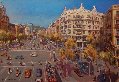 Josep Moscardó, 'La pedrera, Gaudí', 2019