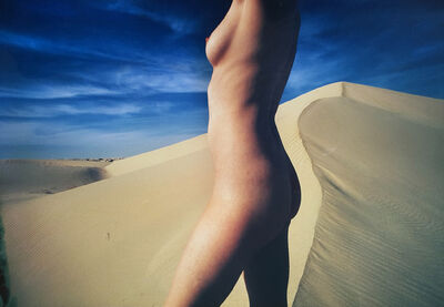William Silano, 'Nude against the Dune', 1968