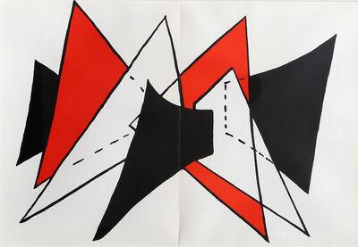 Alexander Calder, 'Study for Stabiles from Derrière le Miroir ', 1975