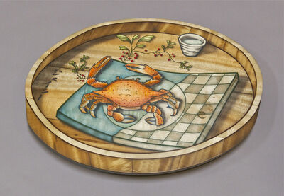 John Cederquist, 'Kegani and Green Tea Tray', 2007