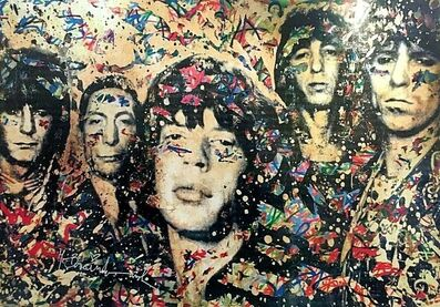 Mr. Brainwash, 'The Rolling Stones, signed', 2008