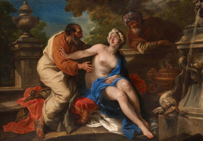 Pier Leone Ghezzi, 'Susannah and the Elders ', 1720-1730