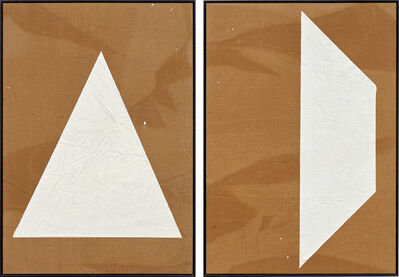 Mark Hagen, 'Two works: (i) To Be Titled (Additive Painting #8); (ii) To Be Titled (Additive Painting #9)', 2010