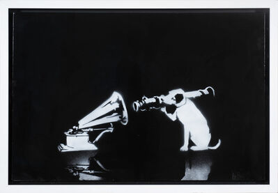 Banksy, 'HMV (Canvas)', 2005