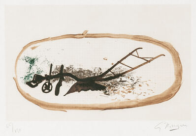 Georges Braque, 'La charrue', 1960