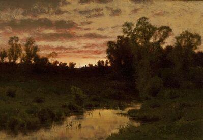 Charles Harry  Eaton, 'Gloaming', ca. 1890