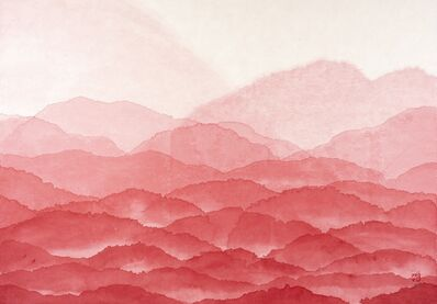 Minjung Kim, 'Red Mountains', 2020