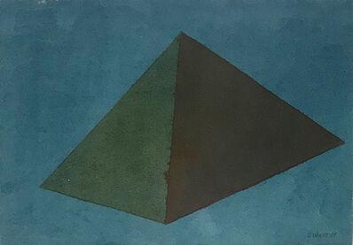 Sol LeWitt, 'Small Pyramid', 1985