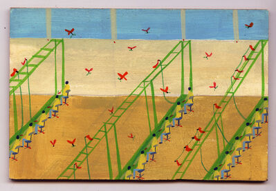 Sandra Wang and Crockett Bodelson SCUBA, 'Parrots at Work', 2017