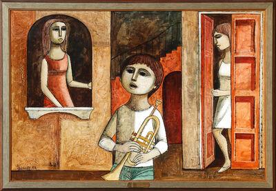 Lucio Ranucci, 'Trumpeter', 1974