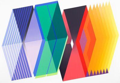 Arthur Dorval, 'Eclosions Géométriques #2', 2019