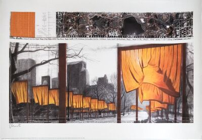 Christo, 'Group of Nine Offset Prints', various, 1985, 2010