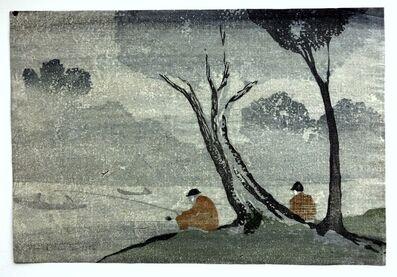 Bror Julius Olsson Nordfeldt, 'Mist, Anglers', 1906