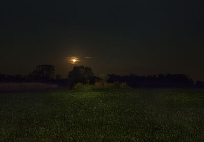Jeanine Michna-Bales, 'Orange Moon. Adams County, Indiana', 2014