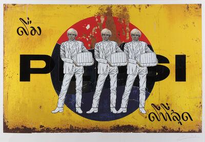 Pakpoom Silaphan, 'Warhol On Pepsi', 2011