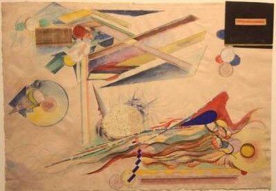 HILLA REBAY, 'Horizontal n.d', 1935