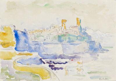Paul Signac, 'Vue d'Antibes', ca. 1918-1919