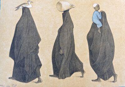 Francisco Zúñiga, 'Impressions of Egipto (Egypt) plate 10', 1982