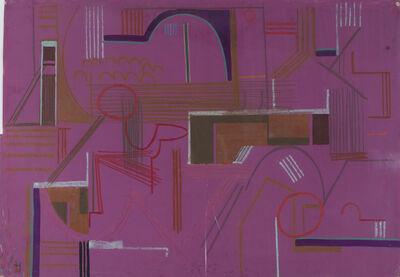 Constantin Flondor, 'Landscape', 1967