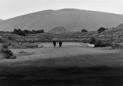Graciela Iturbide, 'Calzada de los muertos, Teotihuacán, México', 1979