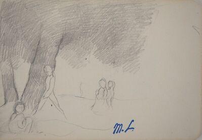 Marie Laurencin, 'Summer walk', 20th  Century