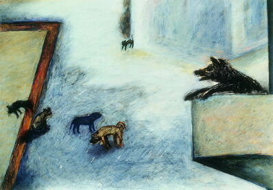Su Wong-shen 蘇旺伸, 'Street Corner', 1990