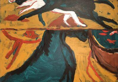 Zhang Bo, 'Sitting on a Horse Watching Fish', 2018