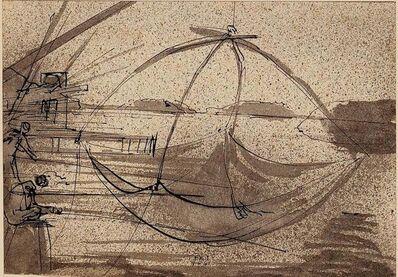 Eugene Berman, 'The Fishing', 1938