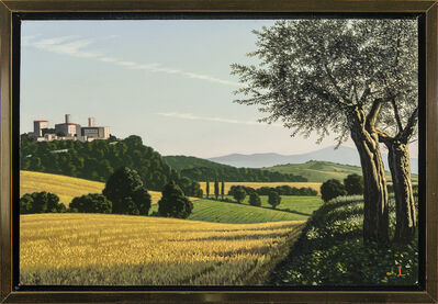 David Ligare, 'Italian Landscape with Olive Trees', 2014