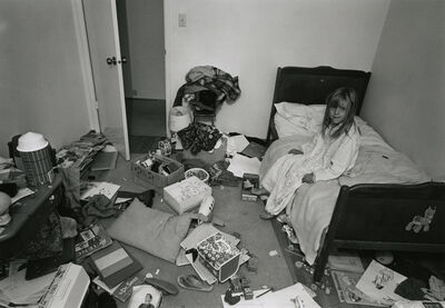 Bill Owens, 'Christina's Room', 1971