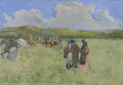 Jean-Louis Forain, 'The Race Track', ca. 1891
