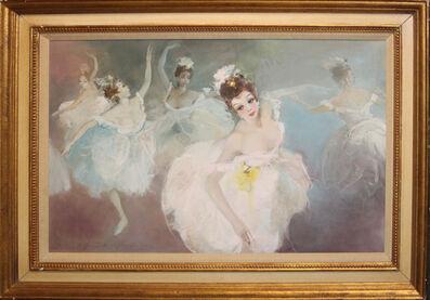 Endre Kompoczy Balogh, 'Ballet Dancers', 1952