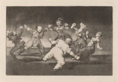 Francisco de Goya, 'Disparate allegre (Merry Folly)', in or after 1816
