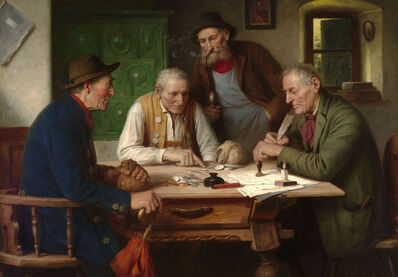 Josef Wagner-Hohenberg, 'Settling the Account', 19th century