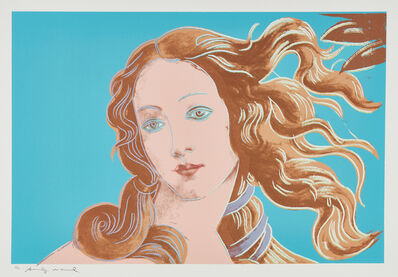 Andy Warhol, 'Details of a Renaissance Painting (Sandro Boticelli Birth of Venus 1482)', 1984