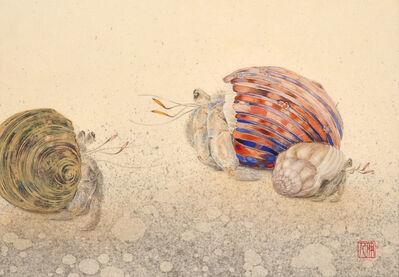 Yoshihito Kawase, 'Yadokari (Hermit Crab)', 2017