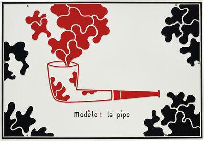 Marcel Broodthaers, 'La pipe', 1968
