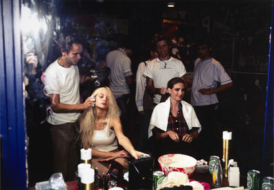 Nan Goldin, 'James having hair done backstage at Jean Colonna Show, Paris', 1995