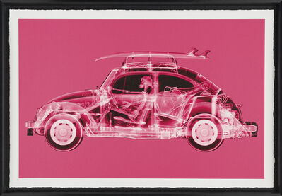 Nick Veasey, 'California Bug (Standard Pink)', 2019