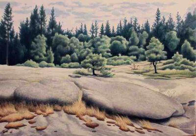 Roger Medearis, 'Near Sebenius', 1992