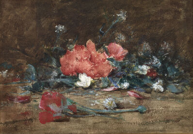 Julian Alden Weir, 'Flowers', 1882