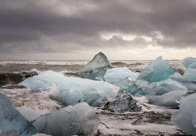 José Maria Mellado, 'Cubitos de hielo en la playa II', 2017