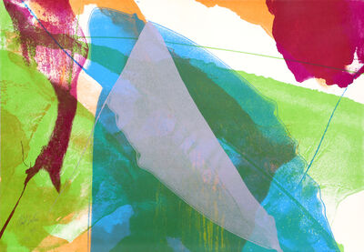 Paul Jenkins, 'Abstract Silkscreen, 1972, by Paul Jenkins', 1972