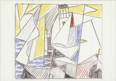 Roy Lichtenstein, 'Sailboats', 1974