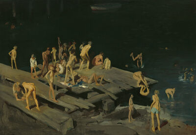 George Wesley Bellows, 'Forty-two Kids', 1907