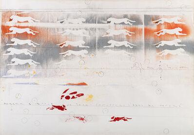 Alighiero Boetti, 'Andare a caccia da solo', 1990