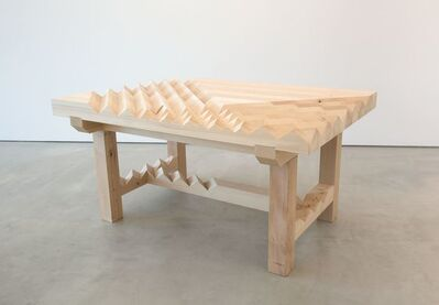 Susumu Koshimizu, 'Working Table—Sliced Surface', 2016