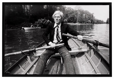 Christopher Makos, 'Andy Warhol Row Boat', 2020