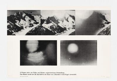 Gerhard Richter, 'Umwandlung (Gemeinschaftsarbeit von Sigmar Polke und Gerhard Richter)', 1968